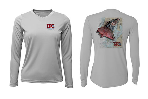 Women's Silver Grouper & Snapper Shirt