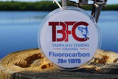 TBFC 20# Fluorocarbon Leader