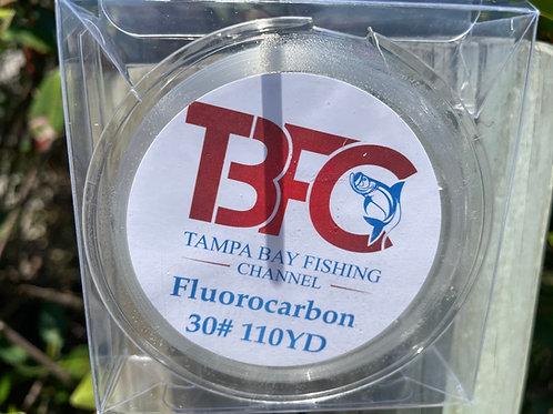 TBFC 30# Fluorocarbon Line 110yds