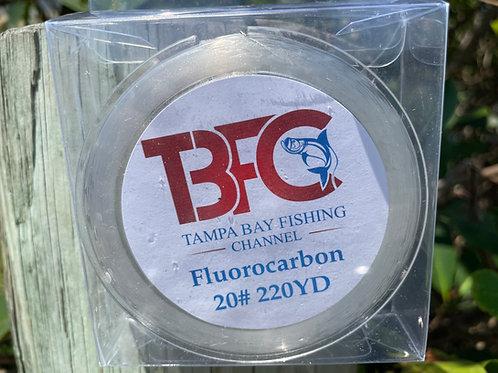 TBFC 20# Fluorocarbon Line 220yds