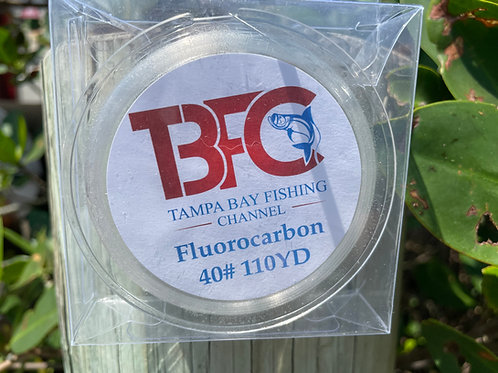 TBFC 40# Fluorocarbon Line 110yds