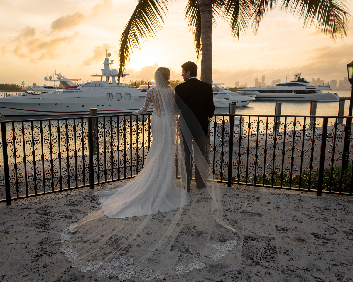 Erin & Stephen, Fisher Island 2018