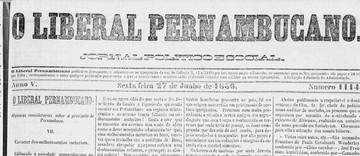 Desembarque de escravos em Sirinhaém em 1855: íntegra de artigo do Jornal O Liberal Pernambucano