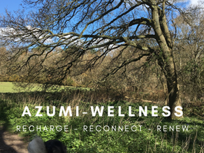 Welcome to AZUMI-Wellness a place to Recharge, Reconnect and Renew.