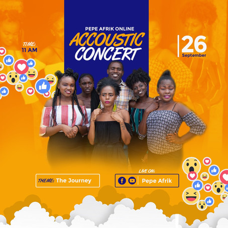 Manzi Rada's Pepea afrik to make their first Online Concert coming up 27th September, 2020