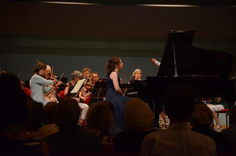 Mozart Piano Concerto KV 414 with Kammerorchester Männedorf-Küsnacht
