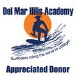 Appreciated Donor to Del Mar Hills Academy