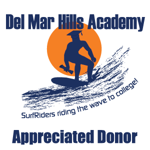 Appreciated Donor to Del Mar Hills Academy