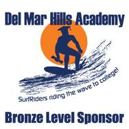 Bronze Level Sponsor to Del Mar Hills Academy