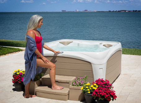 Have You Tried Hot Tub Yoga?
