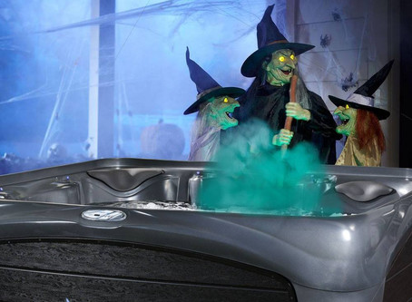 How to Dress Up Your Hot Tub This Halloween