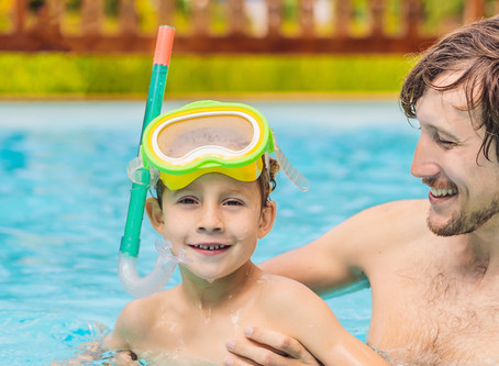 A Papa Pool Party for Father's Day
