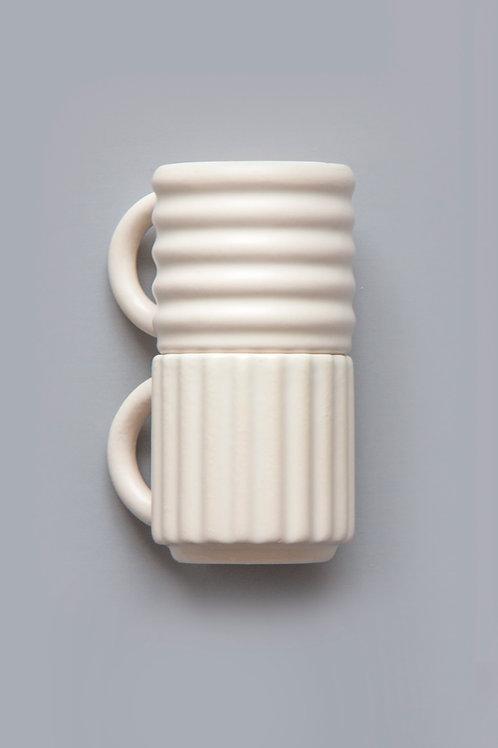 Ripple Espresso Cups Set of 2