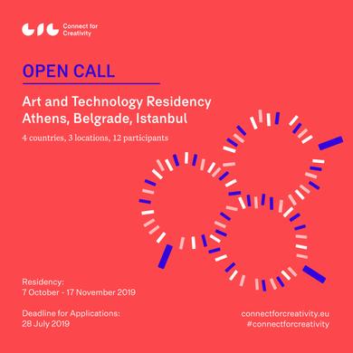 Açık Çağrı: Atina, Belgrad ve İstanbul'da eş zamanlı düzenlenecek Sanat ve Teknoloji Rezidans Progra