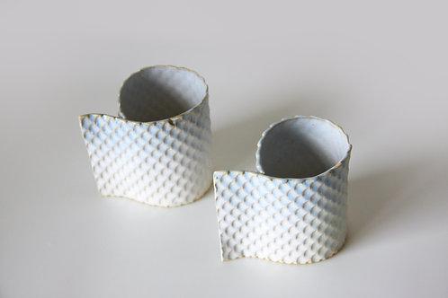 Folded Mugs Set of 2