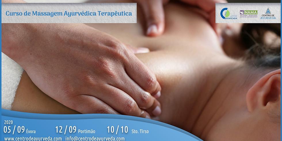 Formação em Massagem Ayurveda