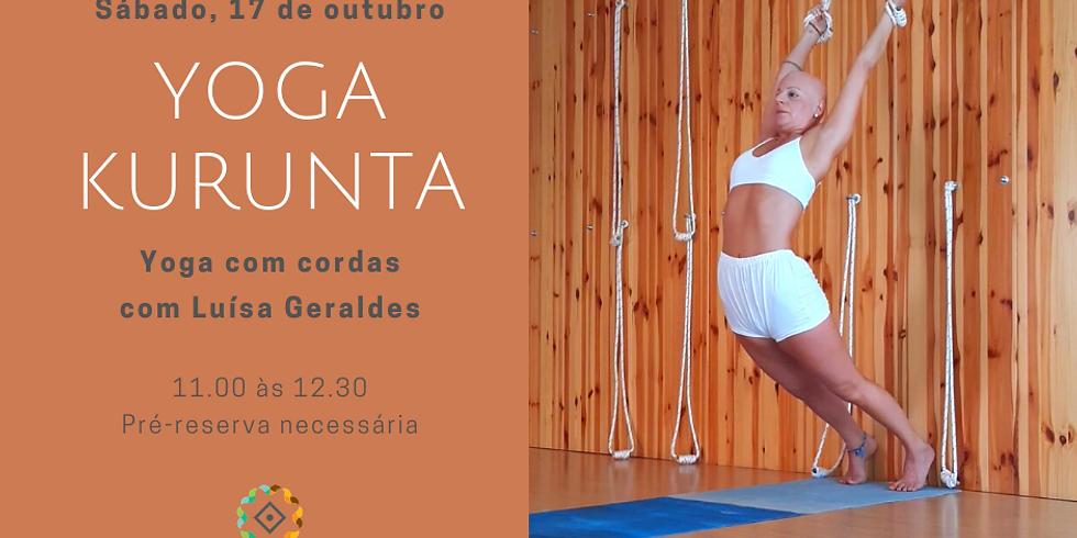 Aula Yoga Kuruntha com Luísa Geraldes