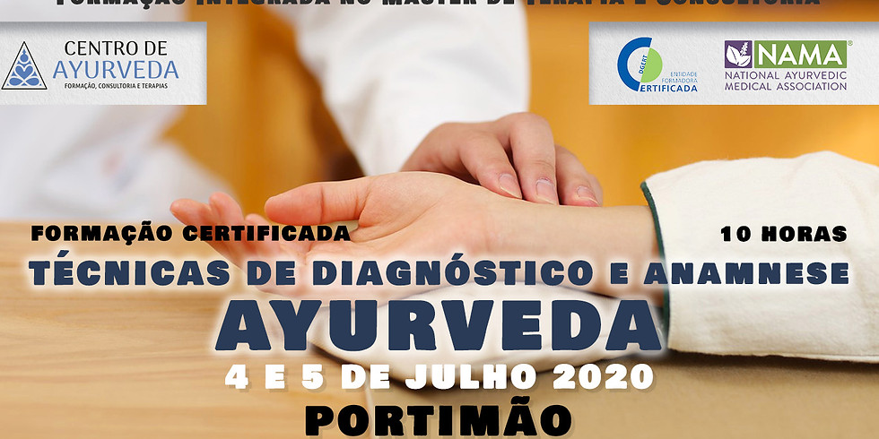 Formação Técnicas de Diagnóstico e Anamnese Ayurveda