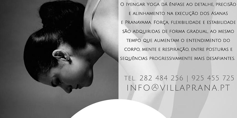 Intensivo de Yoga Iyengar com Antónia Soares