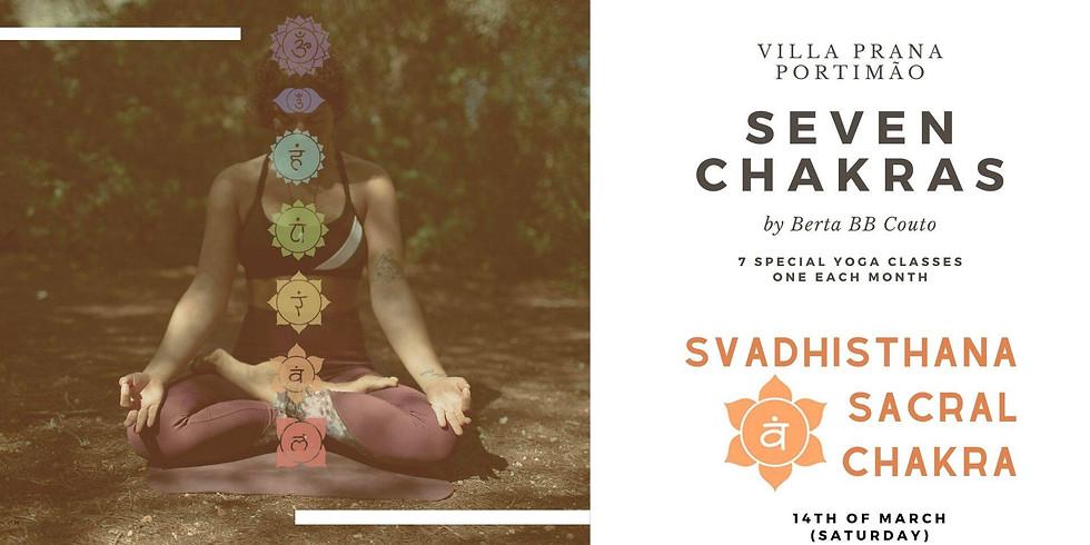 SVADHISTHANA CHAKRA – Aula de YOGA, com Berta Couto