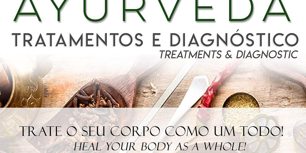 Consultas e tratamentos Ayurveda, com David Ferreira