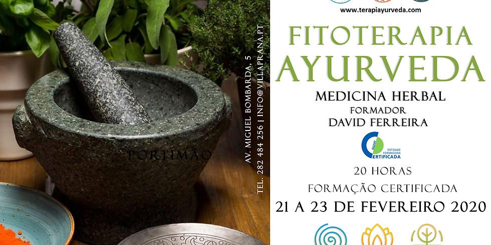 Formação Fitoterapia Ayurveda - Certificação DGERT