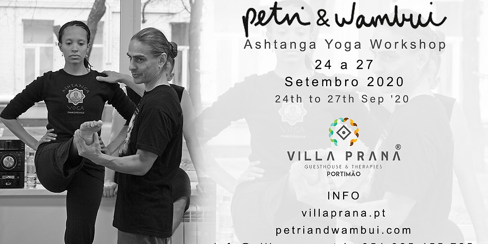 Workshop de Ashtanga Yoga - Petri & Wambui