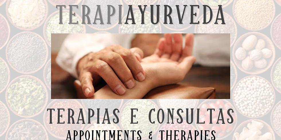Consultas e Terapias Ayurveda