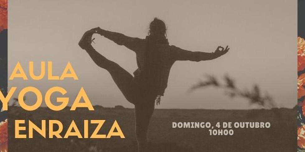 Aula de Yoga «ENRAIZA» - Com Berta Couto