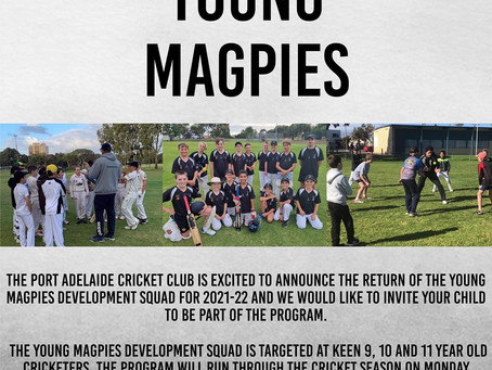 Young Magpies Development Squad
