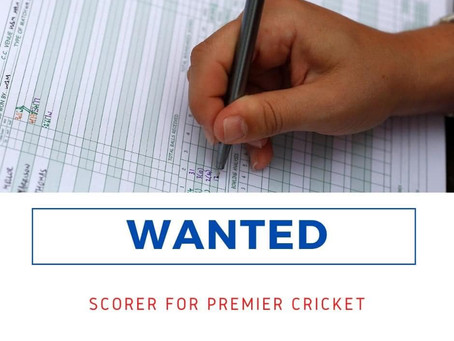Scorers Wanted