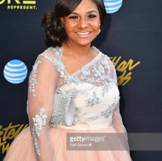 Isabel Davis at the Stellar Awards