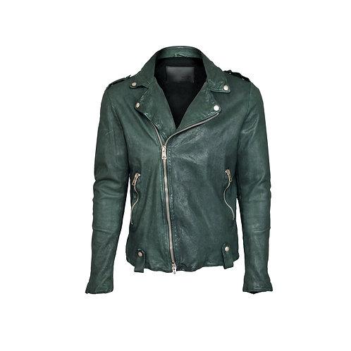 SSD-961 Soft leather biker jacket