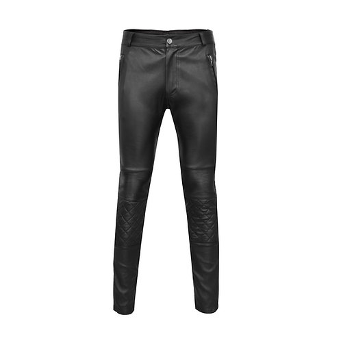 SSD-648 Leather Stretched Biker Pants