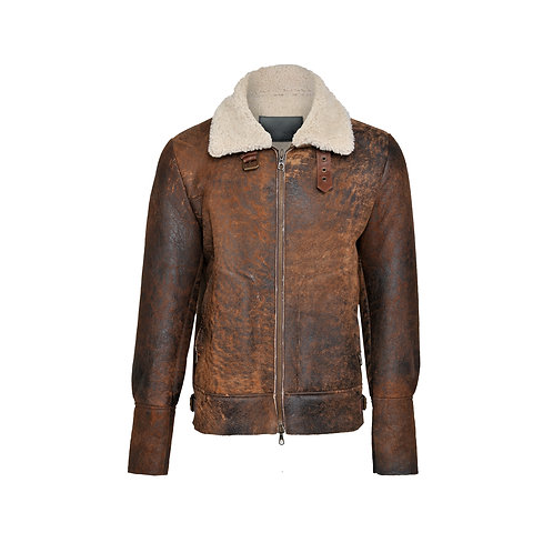 SSD-964 Lamy leather jacket