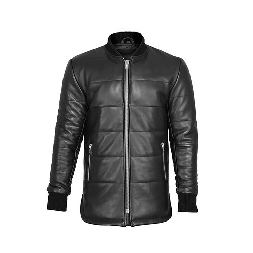 SSD-684 Leather Scooter Jacket