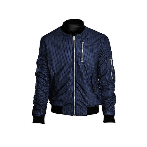 SSD-591 Perforated Leather Jacket