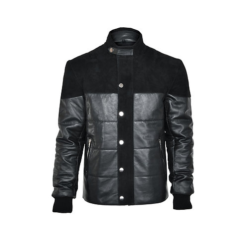 SSD-812 Half Suede Leather Jacket