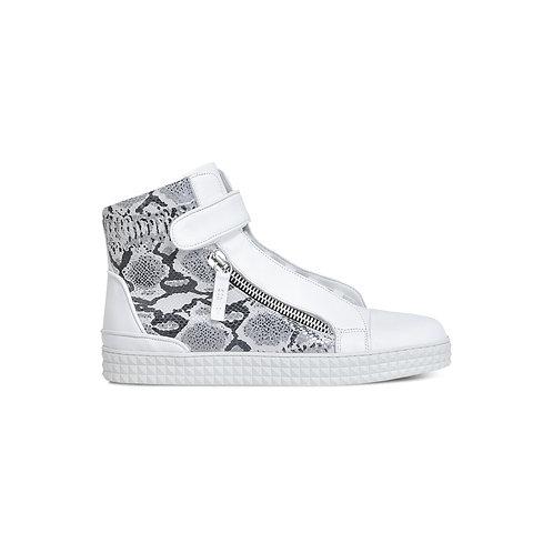 HZSR Mid top zipper sneakers