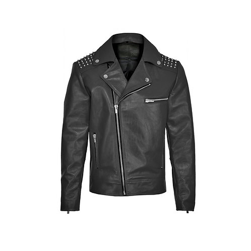 SSD-243 Stud Leather Jacket