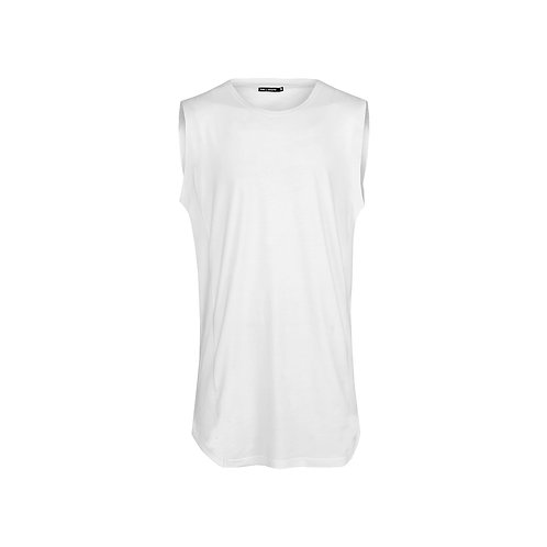 SSD-453 Sleeveless Long Front Tee