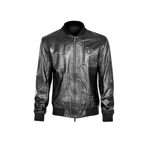 SSD-594 Leather Croco Jacket
