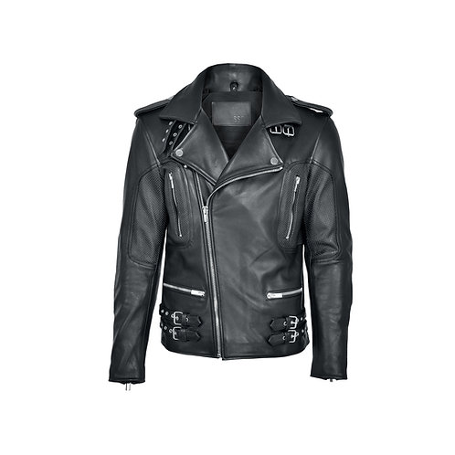 SSD-628 Leather Biker Jacket