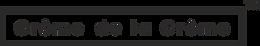 Creme de la Creme word logo