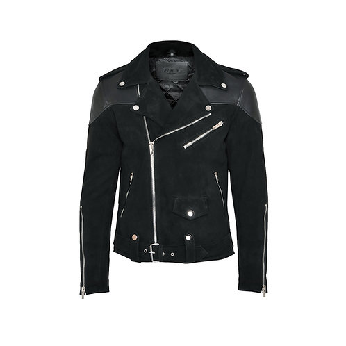 SSD-810 Half Suede Leather Jacket