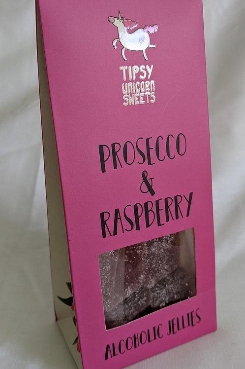 Prosecco and Raspberry