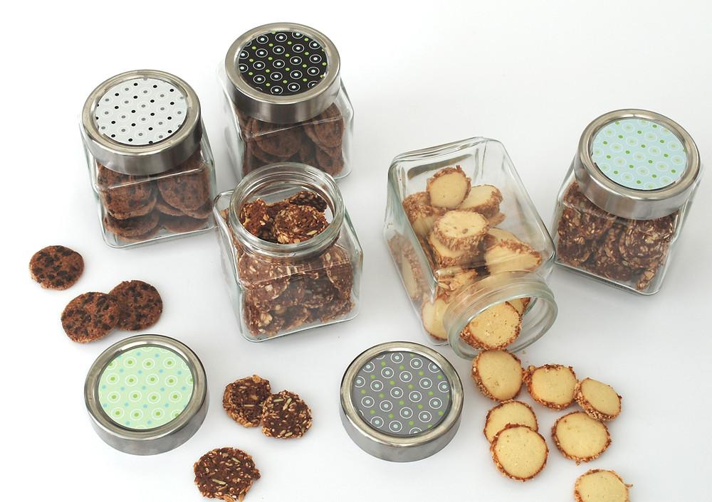 מתנות למורות ולמורים סיום שנה צנצנת עוגיות