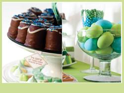 ביצים משוקולד וקרמבו מעוצבים