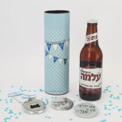 מארז בירה ופותחן