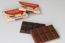 שוקולדים במיתוג אישי